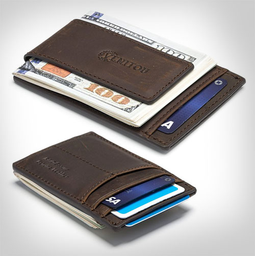 Genuine-Leather-Money-Clip-Wallet,-RFID-Blocking-Wallet