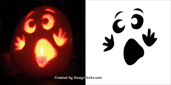 Easy halloween pumpkin carving stencils patterns printables