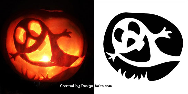 10 Easy Halloween Pumpkin Carving Stencils, Patterns & Printables ...