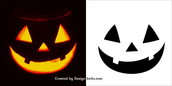 graphic about Printable Pumpkin Template named 10 Simple Halloween Pumpkin Carving Stencils, Behaviors