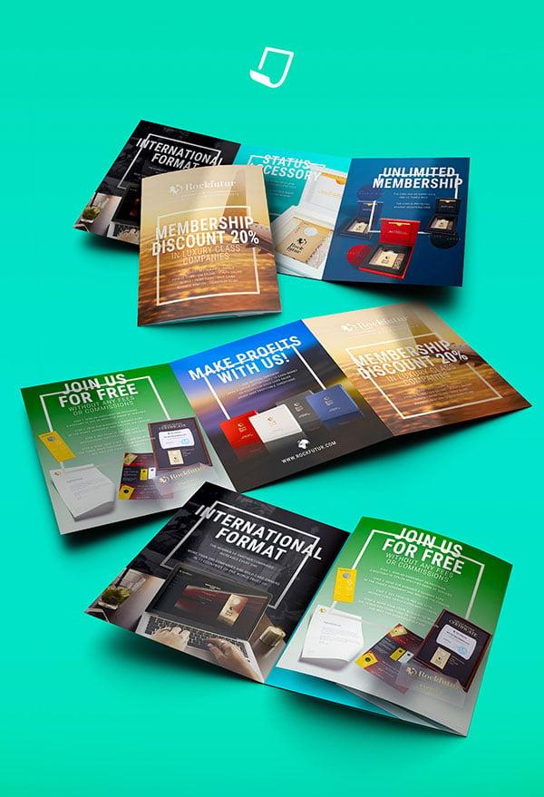 20 modern style brochure catalogue template design ideas for
