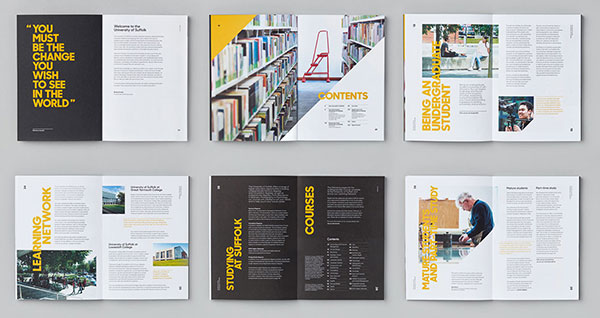 20 modern style brochure catalogue template design ideas for