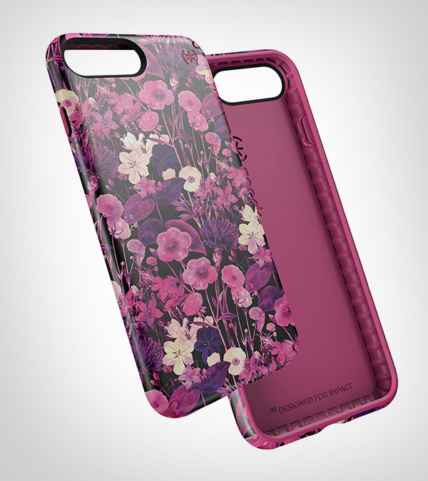 custodia iphone 7 flower
