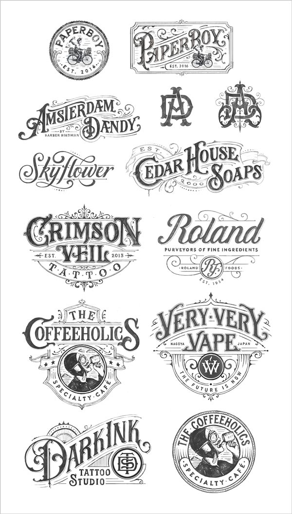 best-beautiful-hand-drawn-logotype-examples-16