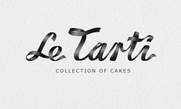 le-tarti-cakes-logo-design