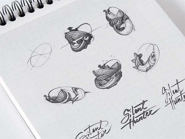 silent-hunter-logo-making