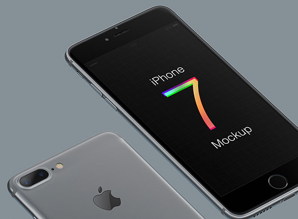 10 Top Class iPhone 7 & iPhone 7 Plus Mockup PSD & Vector Ai