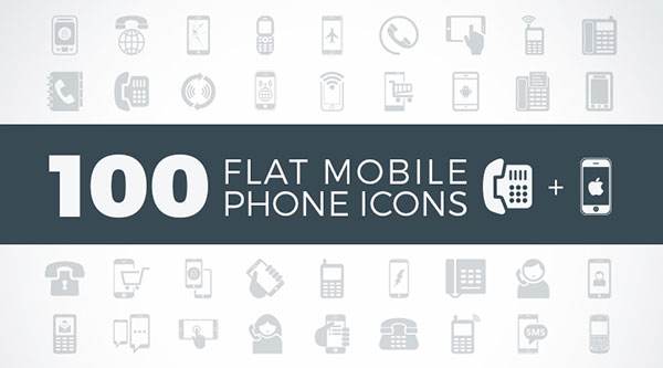 100-flat-mobile-phone-contact-icons