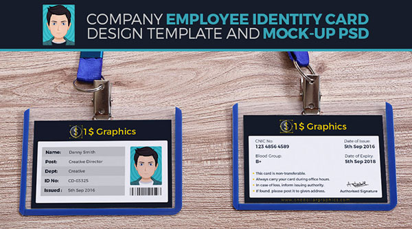 company-employee-identity-card-design-template-and-mock-up-psd