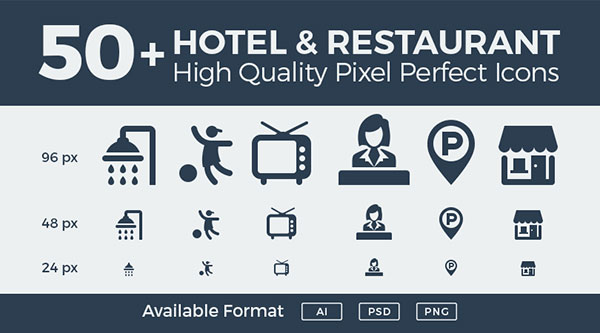 hotel-restaurant-pixel-perfect-icons-2