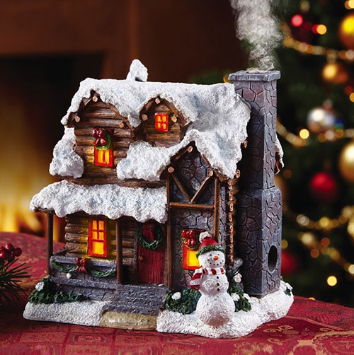 smoking-country-christmas-cabin-incense-burner