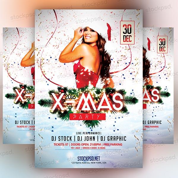 xmas-2016-party-flyer-free