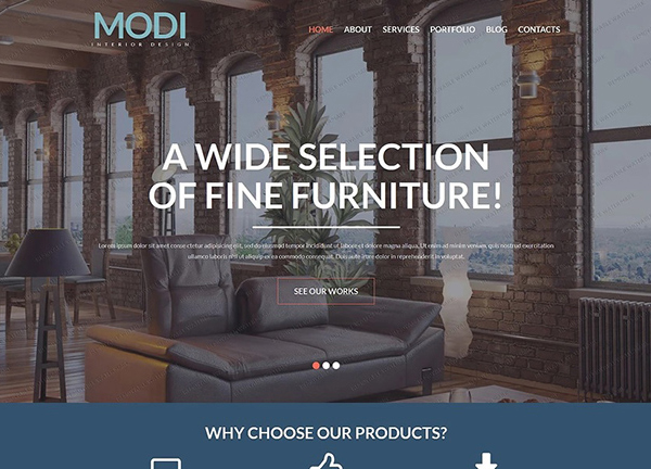 Interior Furniture WordPress Theme