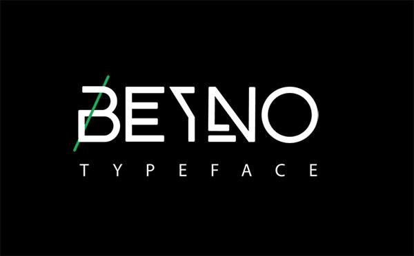 beyno-free-font-2017