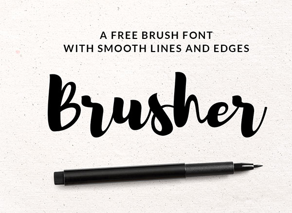 brush-free-font-download