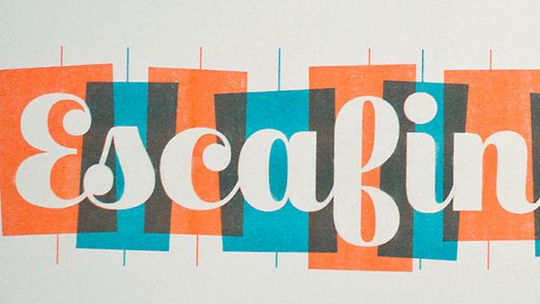 ESCAFINA best free script font 2017