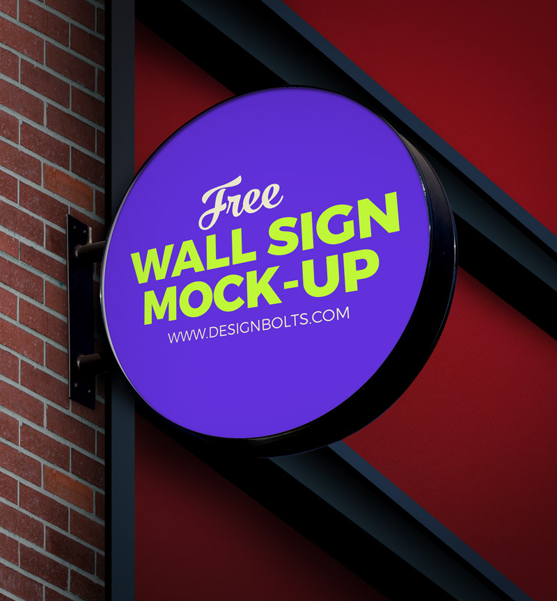free-circular-wall-sign-board-logo-mockup-psd-file