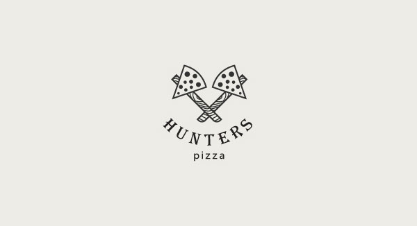 hunters-cool-logo-design