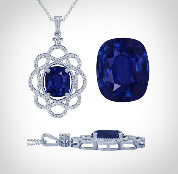 18k-white-gold-cushion-cut-blue-sapphire-and-round-diamond-pendant-2