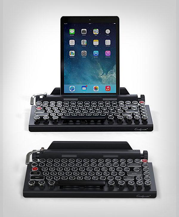 Best Kickstarter Gadget 2017 Typewriter Wireless Keyboard