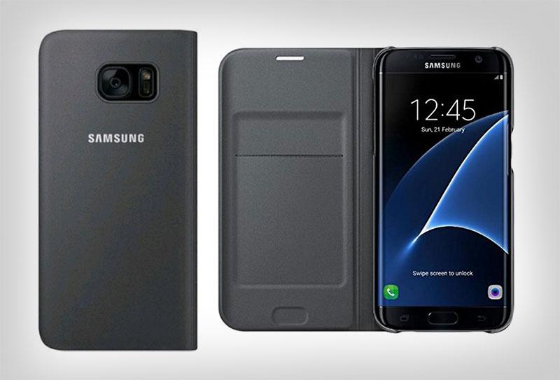 Genuine-Simple-Samsung-Galaxy-s7-Flip-Wallet-Cover-Case