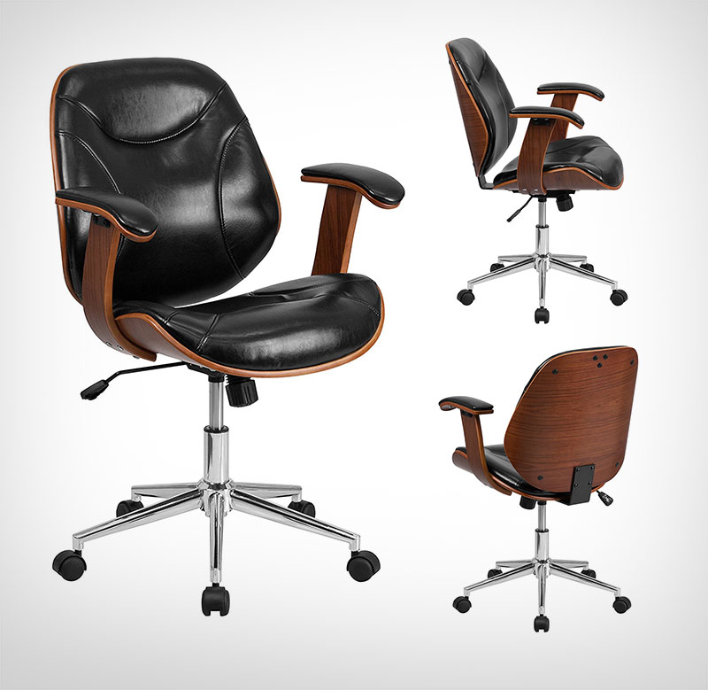 office-leather-chair-for-designers-2017 & Top 10 Best Adjustable Computer Chair For Graphic Designers u0026 Office Use