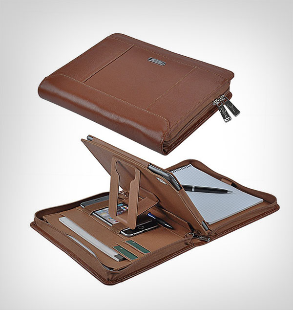 iPad-Pro-9.7-Case,-Organizer-Portfolio-Case-with-Removable-Tablet-Holder-for-9