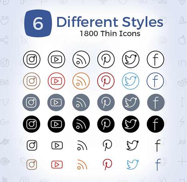 3000-Thin-Social-Media-Icons-2017-4