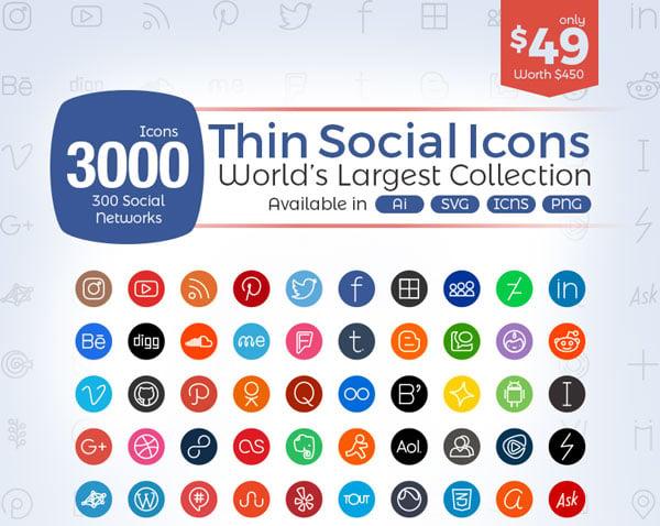 3000-Thin-Social-Media-Icons-2017
