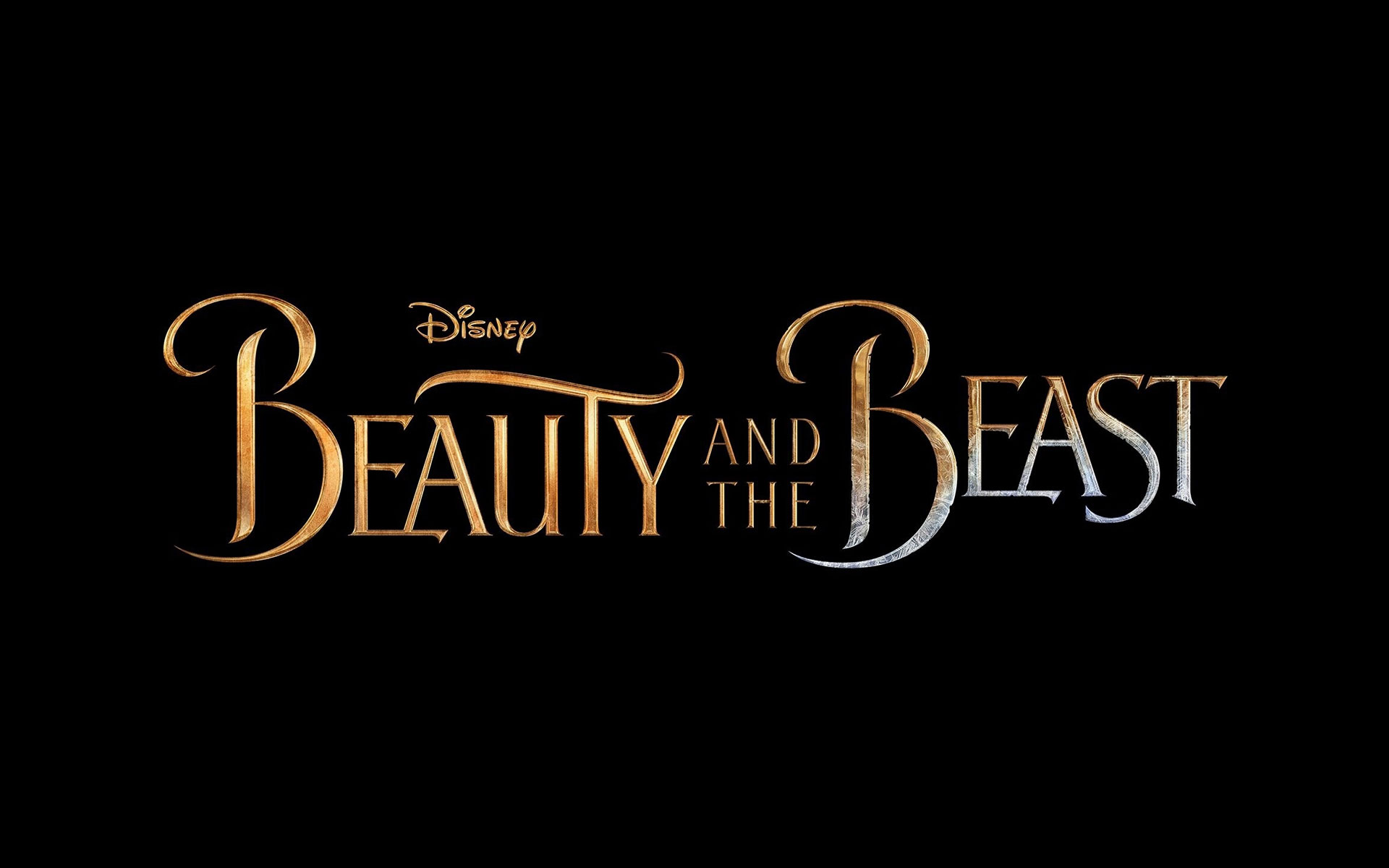 Beauty And The Beast Logo Wallpaper HD