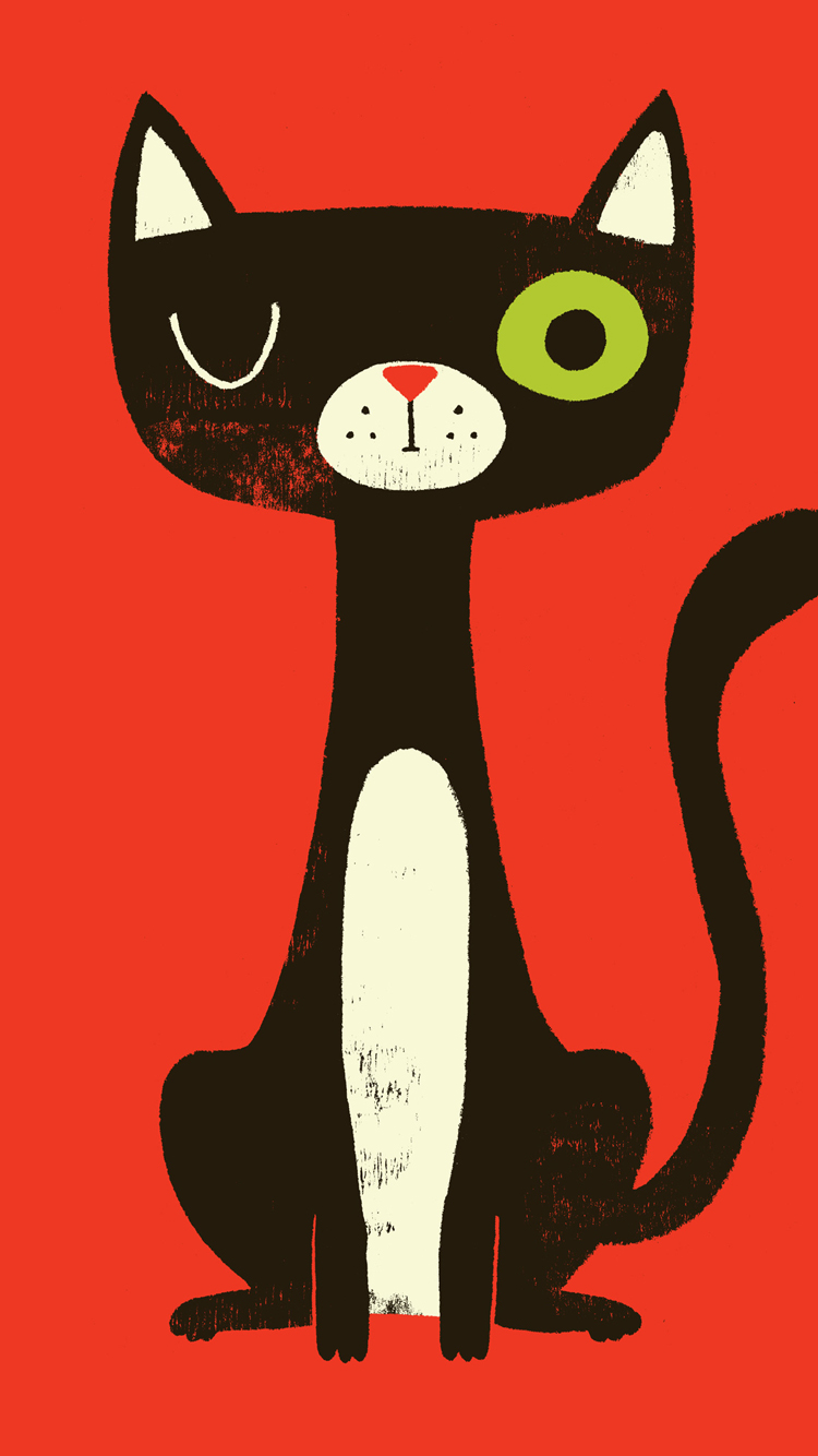 Cat-iPhone-Wallpaper