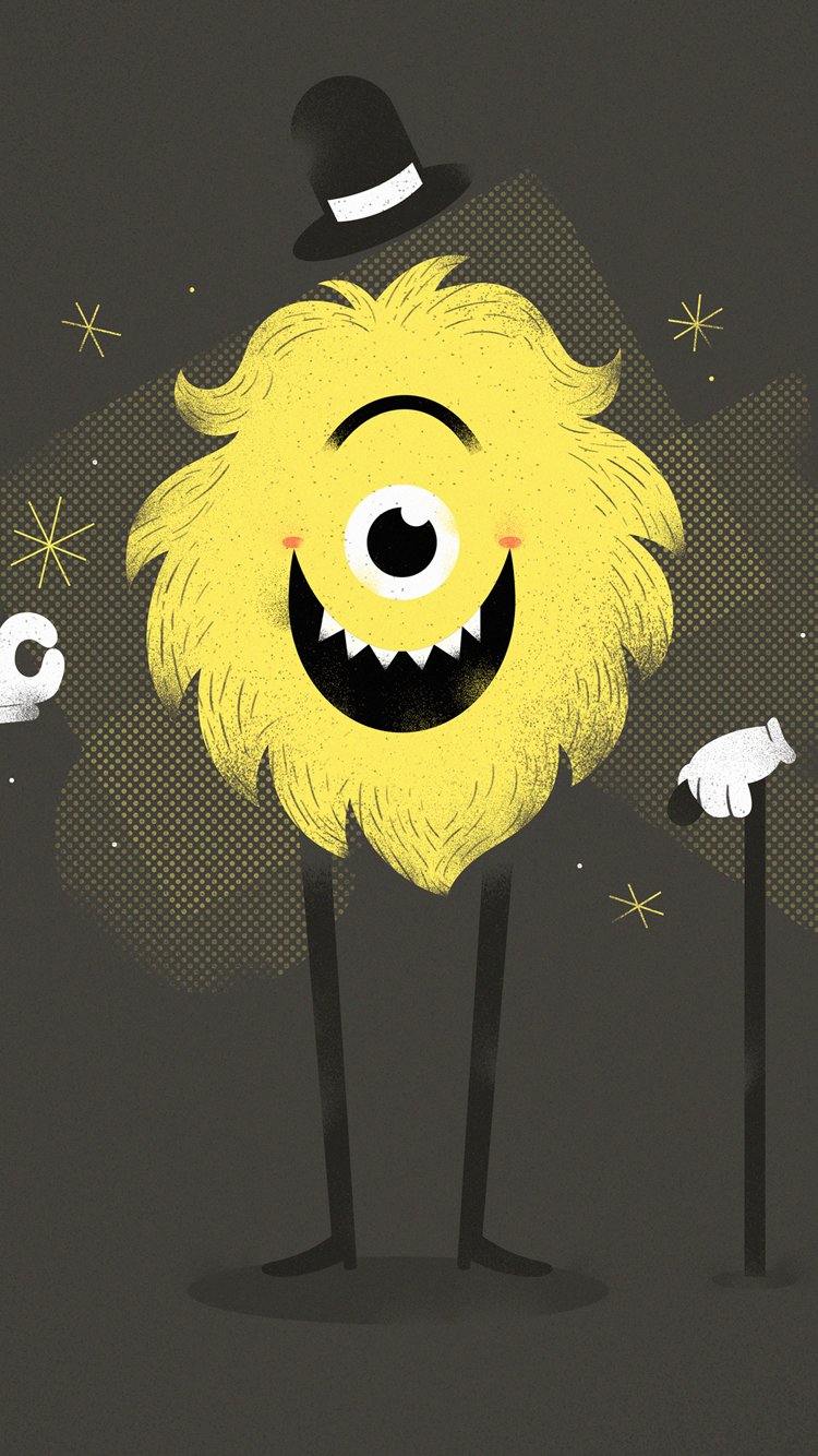 Cool-Monstor-iPhone-Wallpaper