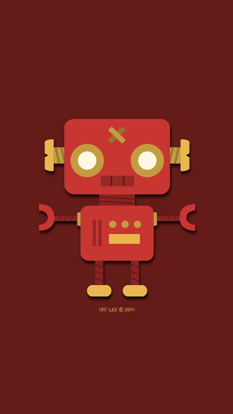Cool-Robot-iPhone-Wallpaper