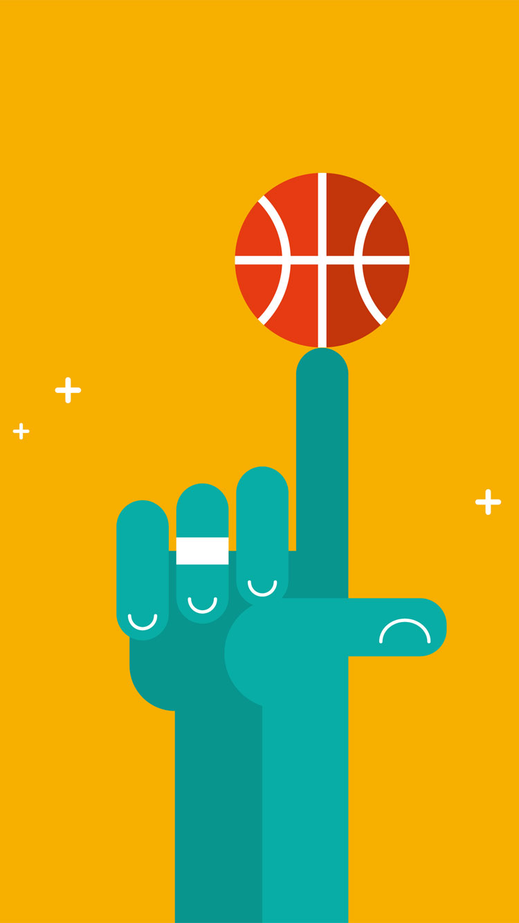 Cool-iPhone-7-Basket-Ball-Wallpaper
