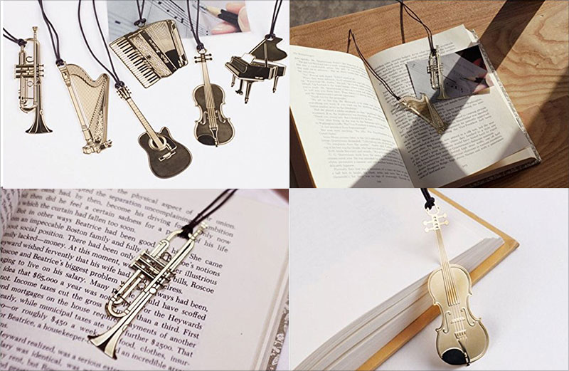 Creative-Music-Bookmark-Designs