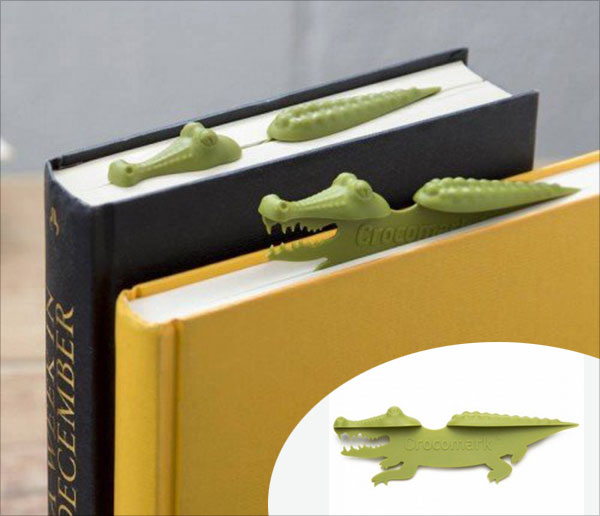 Crocodile-Unique-Bookmark