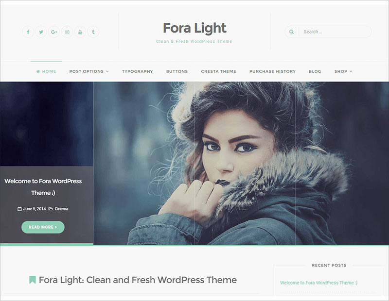 Fora-Fully-Responsive,-Clean-WordPress-Theme-2017