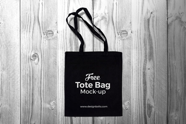 Free-Black-Cotton-Tote-Shopping-Bag-Mock-up-PSD