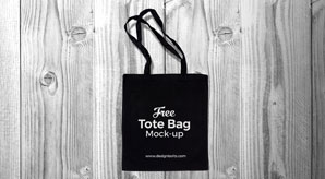 Free-Black-Cotton-Tote-Shopping-Bag-Mock-up-PSD