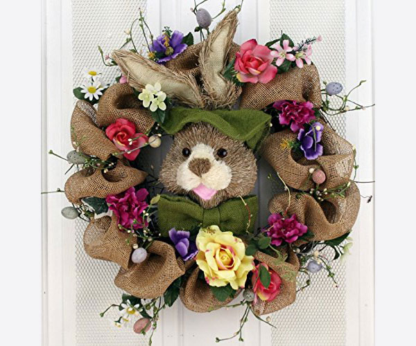 Hoppin'-Burlap-Bunny-Silk-Easter-Wreath-22-inch