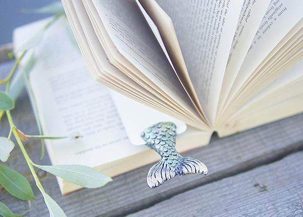 Mermaid-handmade-Cool-bookmark