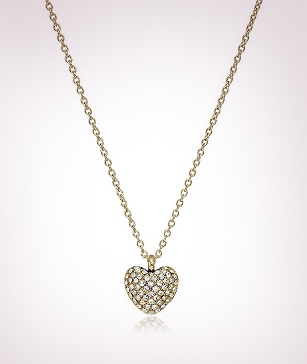 Michael-Kors-Tone-Logo-Heart-Pendant-Necklace