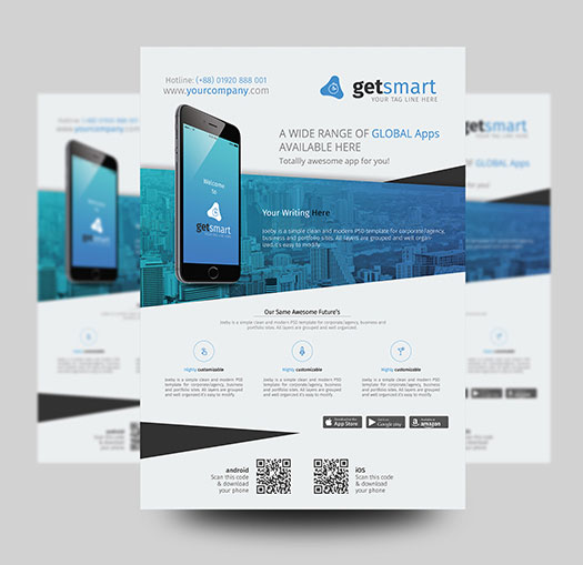 Mobile-App-Flyer-Design