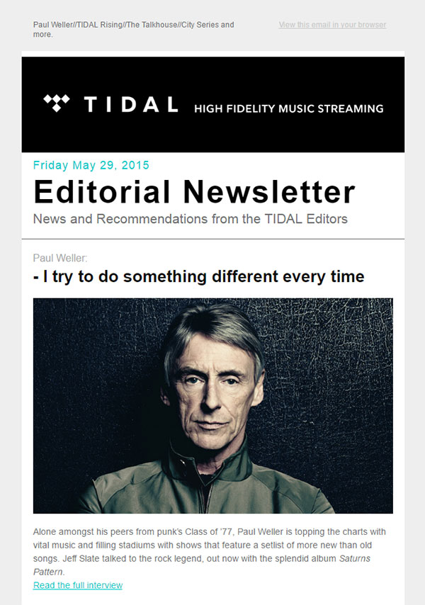 Musical-Streaming-Email-Newsletter-Design