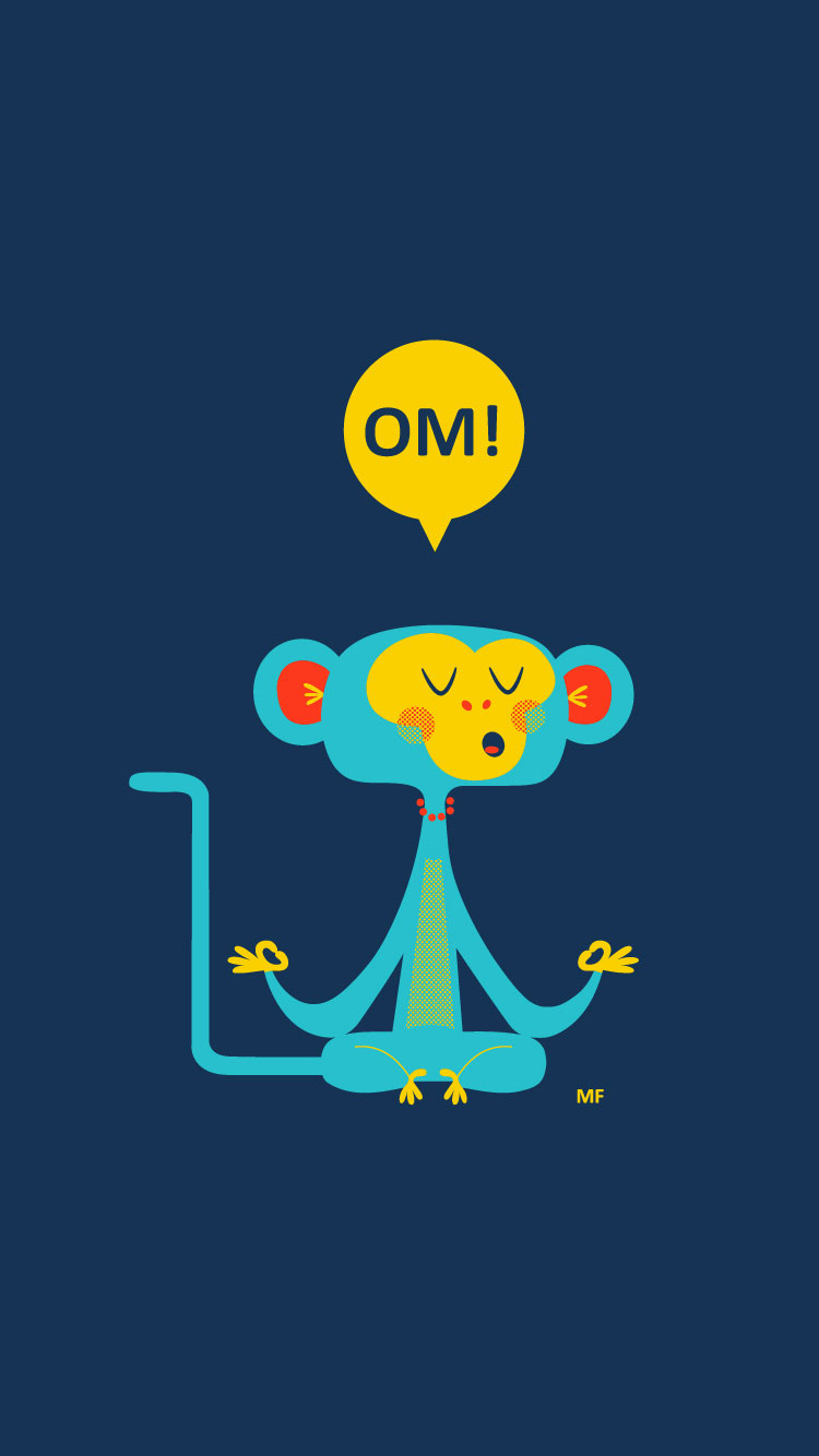 OM-Cool-Monkey-iPhone-7-Wallpaper-HD