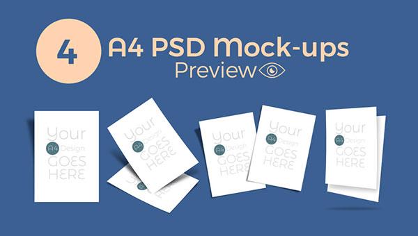A4-PSD-Mockups