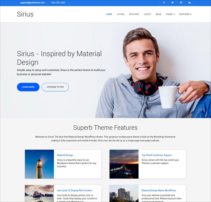 Sirius-clean-multipurpose-wordpress-theme-2017