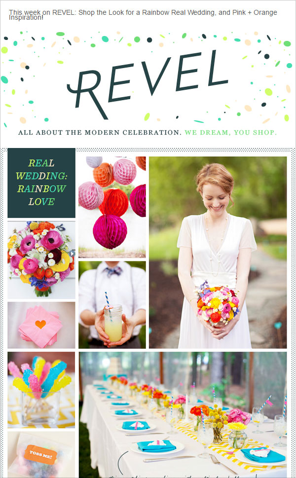 Wedding-decorations-email-newsletter-design