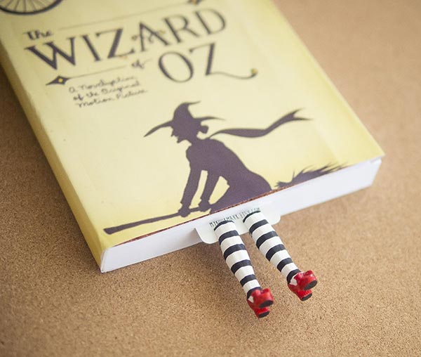 Wicked-witch-handmade-Uique-Bookmark-Design