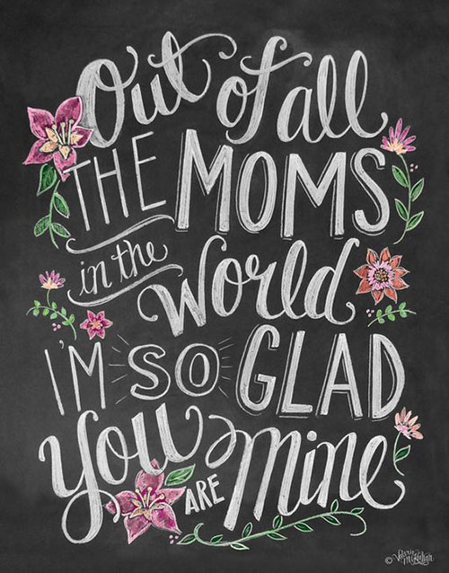 30 Best Happy Mother\'s Day Quotes, Wishes & Messages 2017